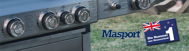 MASPORT Gasgrill - Maestro Black, MB 4000 oder S/SS4 auf TECHNIK-Depot.at kaufen!