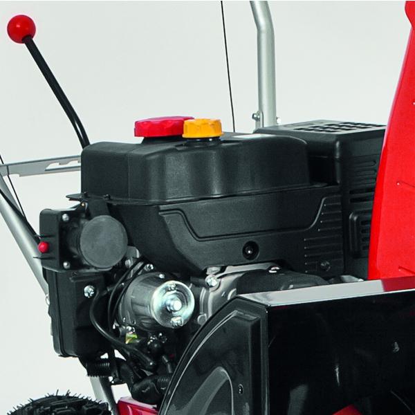 AL-KO Schneefräse Snowline 620 E II Motor kraftvoll und doch sparsam im Verbrauch