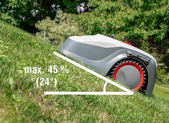 Rasenroboter AL-KO Robolinho 500 E Maehroboter Steigung