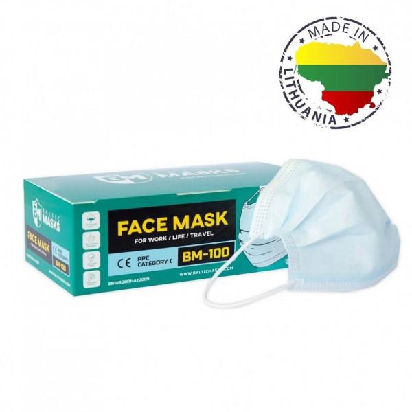 Mund-Nasen-Schutzmaske BFE95% - MNS 3-lagig