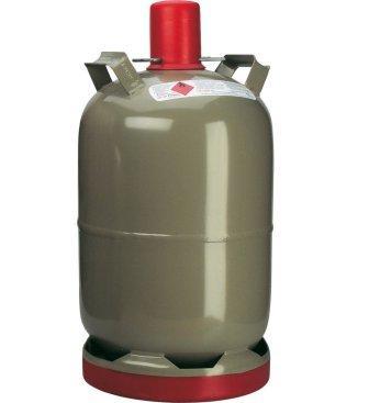 Flüssiggas Euro-Stahlflasche 5kg klein