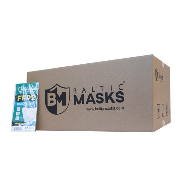 FFP2 Schutzmaske 2er Pack mit Kopfband in der Großpackung