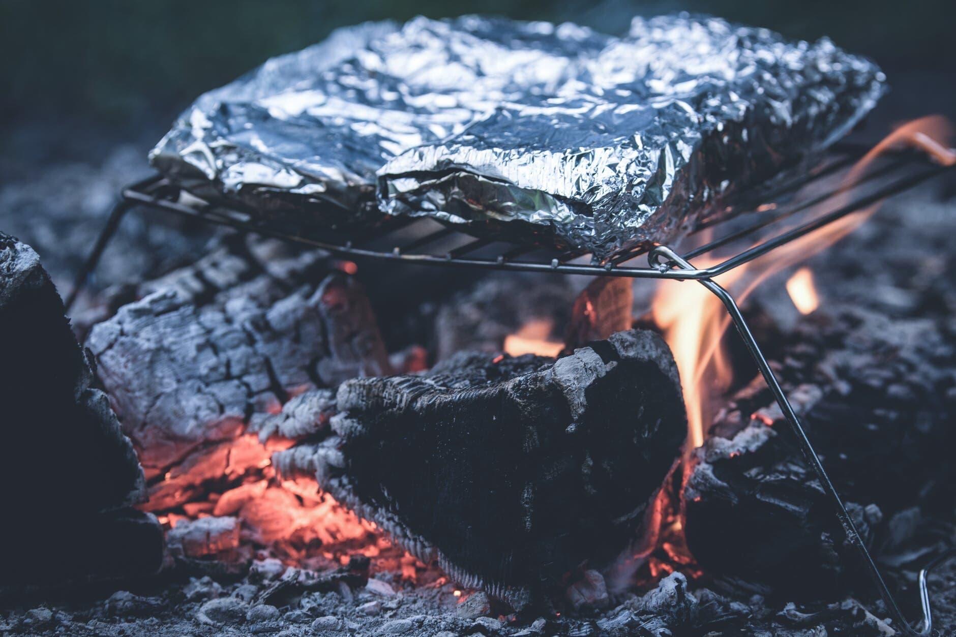 Grillen-mit-Alufolie