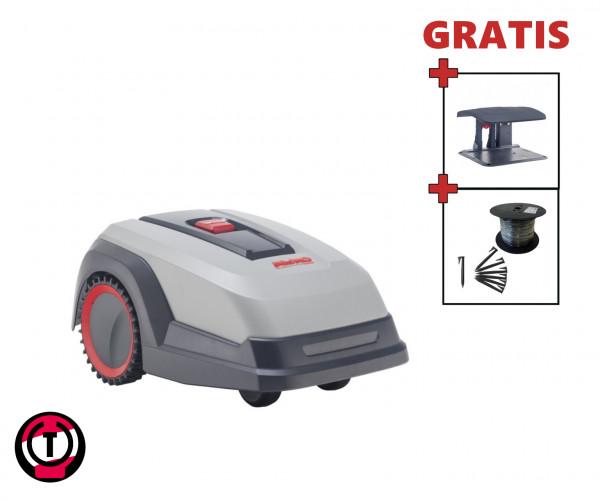 AL-KO Robolinho 500 E - Set mit Robotergarage und Installationsmaterial