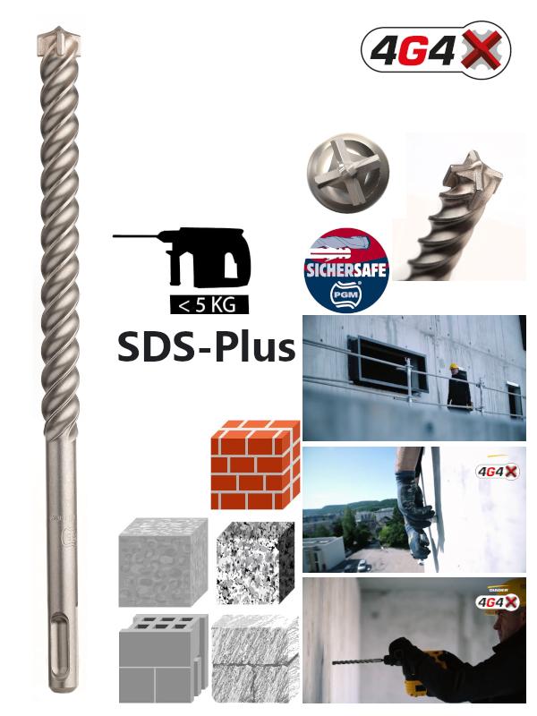 SDS-Plus-Hammerbohrer-Vierschneider-Diager-4G4