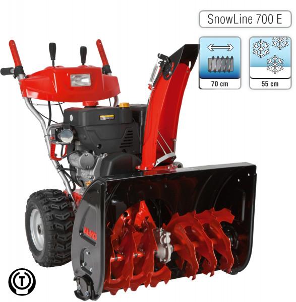AL-KO Snowline 700 E zweistufige Benzin Schneefräse