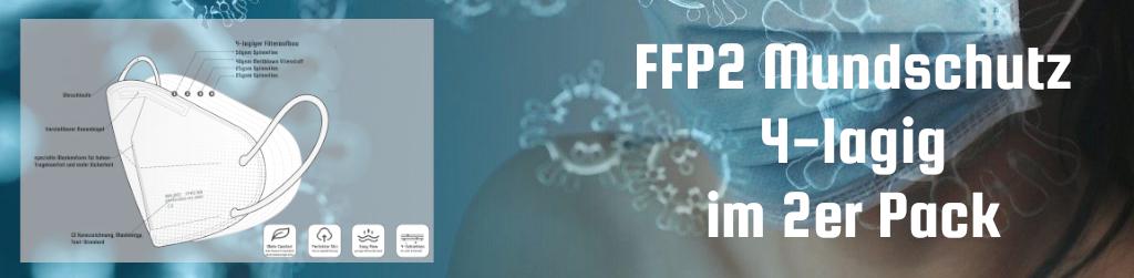 FFP2 Atemschutzmaske im Blister